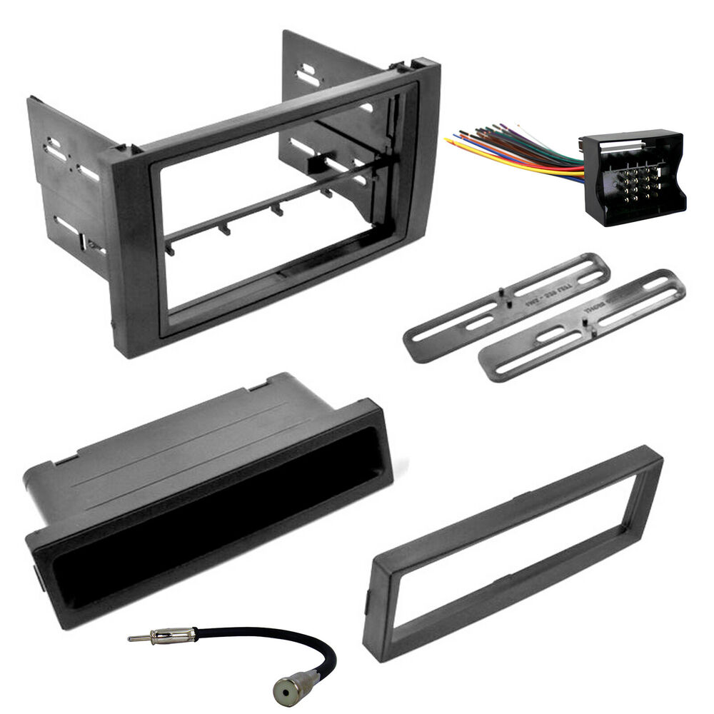 How To Connect Radio Wiring Harness : Ford transit connect radio dash mounting kit with wire