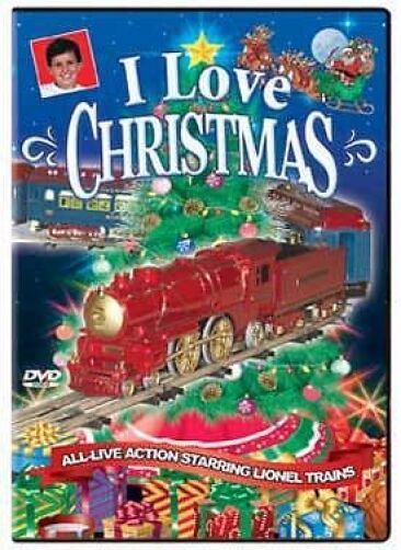 I Love Christmas Dvd New Lionel Holiday Music Toonerville Trolley Trees Santa Ebay