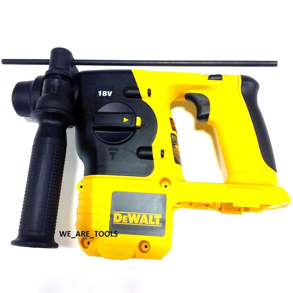 new dewalt dc212 18v cordless battery sds rotary hammer. Black Bedroom Furniture Sets. Home Design Ideas