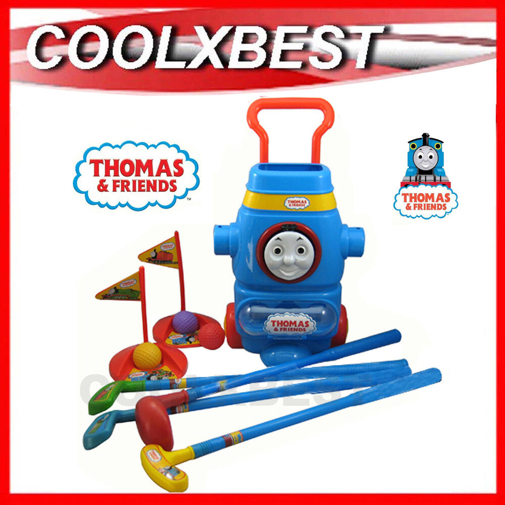 Toys For Friends : New thomas the tank friends toy golf set for kids great