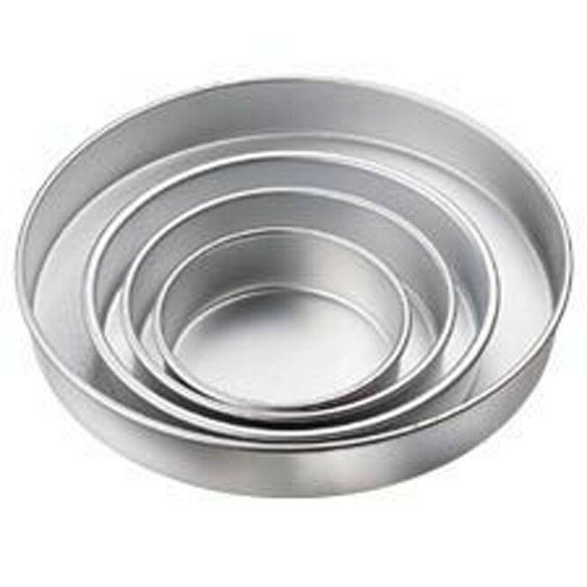 wilton wedding cake pans 2 round 6 8 10 12 14 16 set 6 ebay