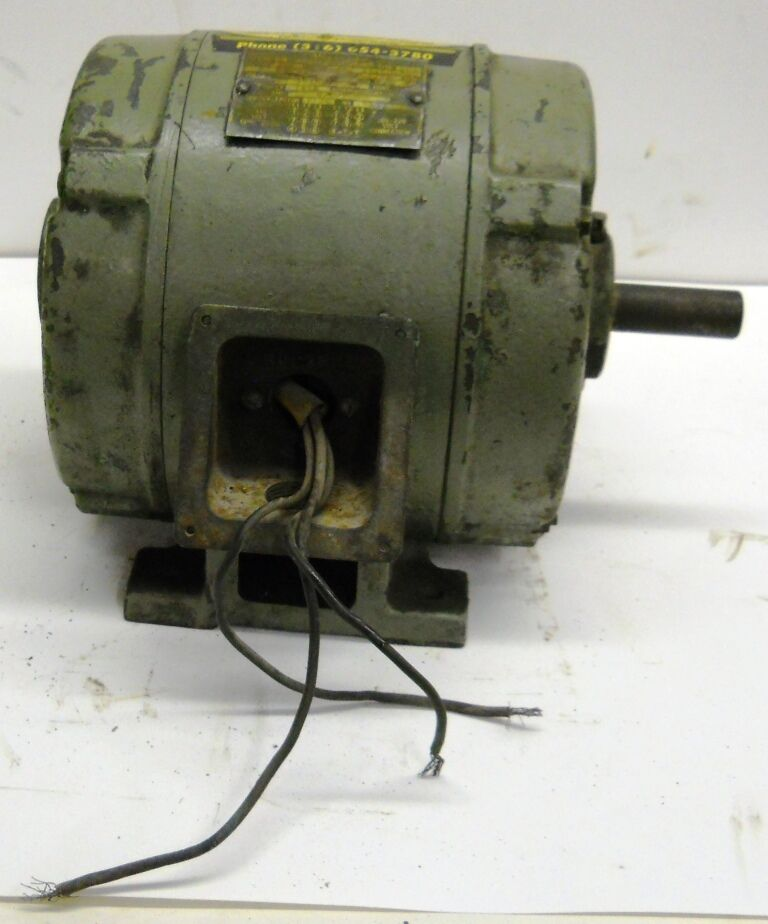 Wagner Induction Motor 182 11150 20 1 Hp 1750 Rpm 208 220 440 Volts Ebay