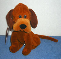 """DISNEY STORE EXCLUSIVE LADY AND THE TRAMP TRUSTY 8"""" BEAN BAG PLUSH TOY"""