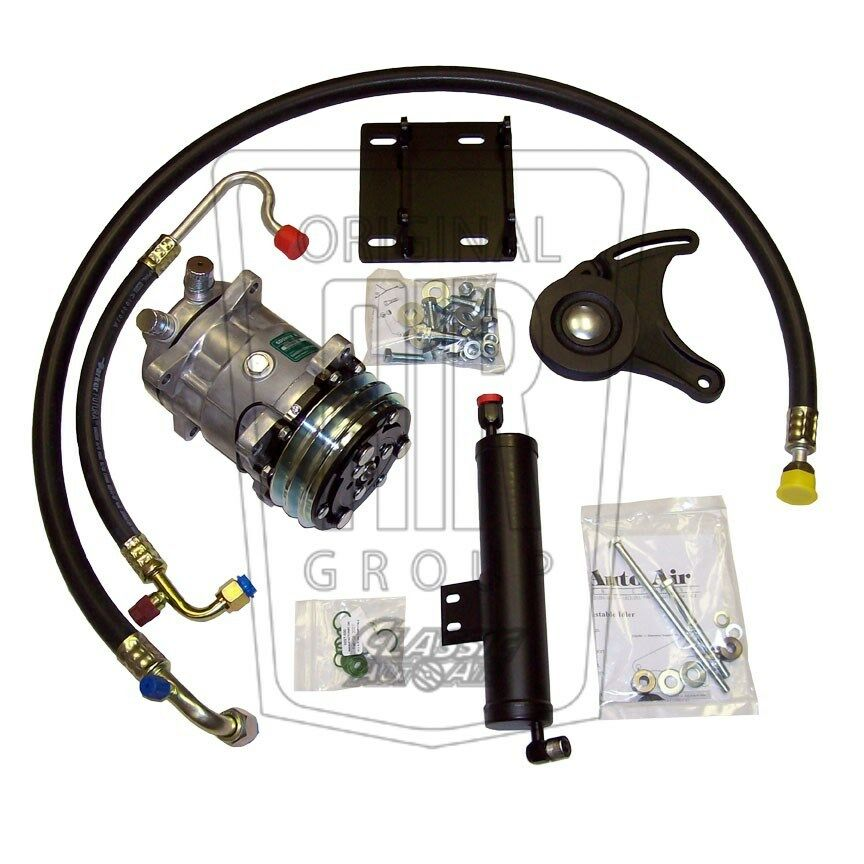 Early 67 Mustang 289 V8 Hipo Ac Compressor Upgrade Kit A C