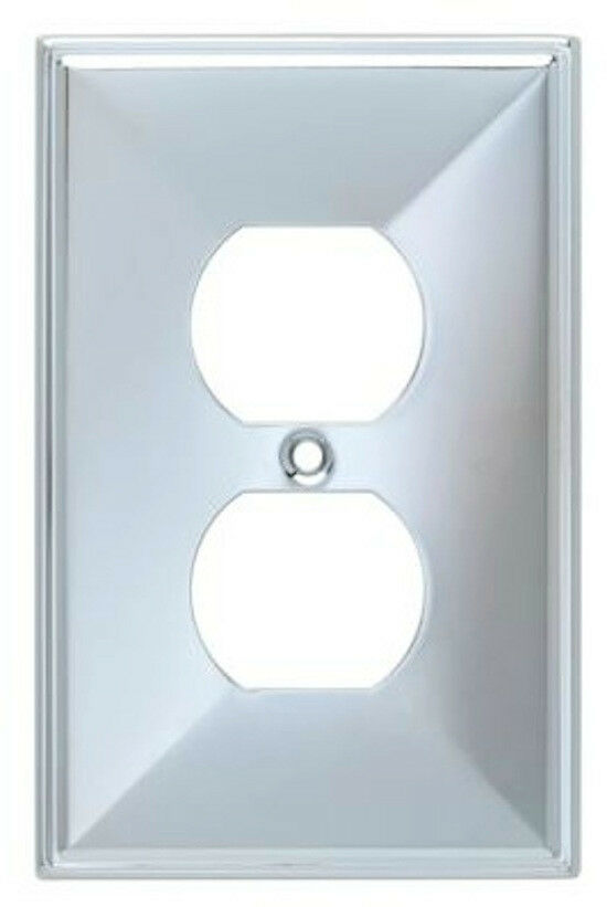 135875 chrome beverly duplex outlet cover plate ebay for Watch duplex free online