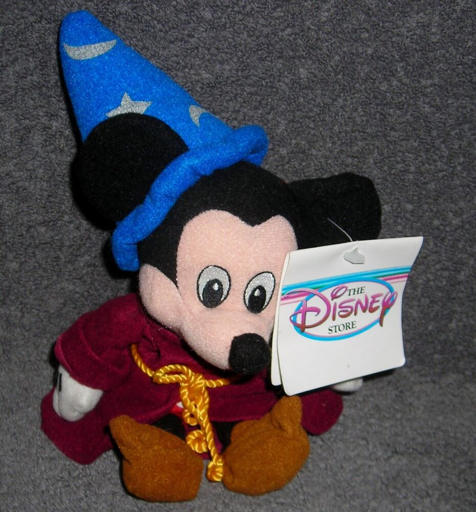 Mickey Mouse Toys : Disney store exclusive mickey mouse fantasia sorcerer