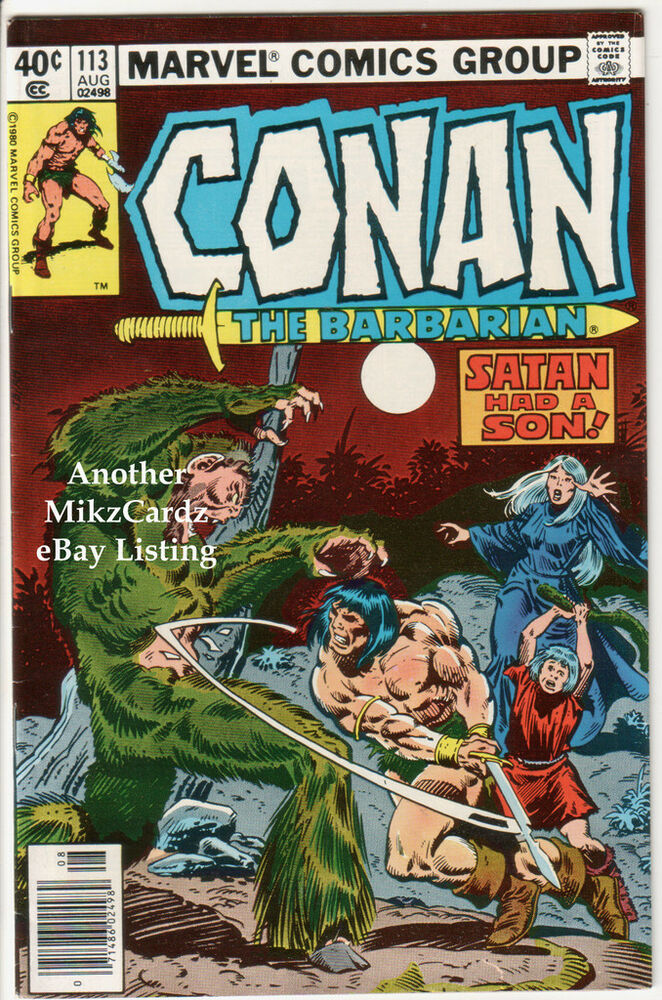 CONAN The Barbarian #113 (Aug 1980) VG+ CONDITION Comic ...
