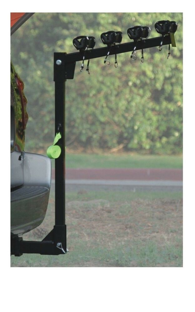HD 4 BICYCLE RACK Trailer Hitch BIKE CARRIER Car amp Truck