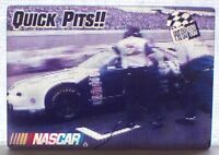 Rusty Wallace Quick Pits 1997 Press Pass Actionvision Motion NASCAR Card #7