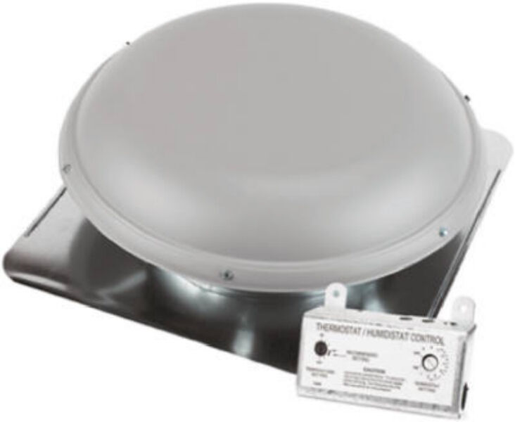 Air Vent Inc 53850 Asrhpml Gray 25 Quot Roof Mount Power Attic
