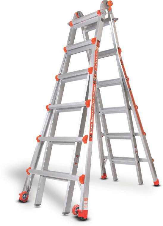 26 1a Classic Little Giant Ladder Includes Wall Standoff