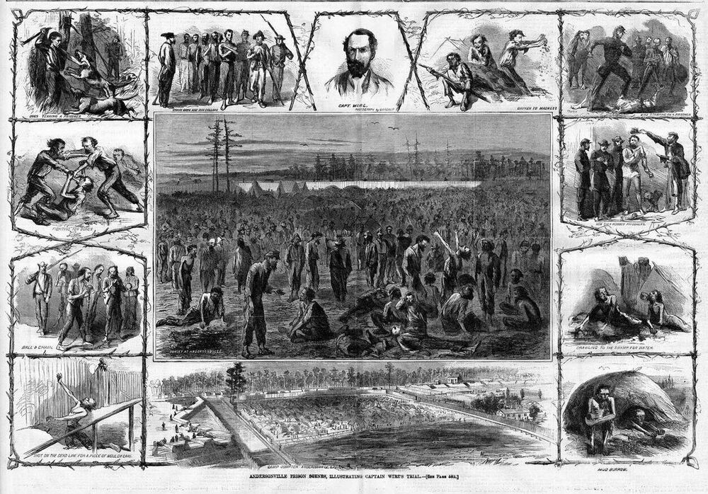 the history of the prisoners of andersonville 1865 the prisoner of war, and how treated : containing a history of colonel steight's expedition to the rear of bragg's army, in the spring of 1863, and a correct account of the treatment and condition of the union prisoners of war and history of andersonville prison pen.