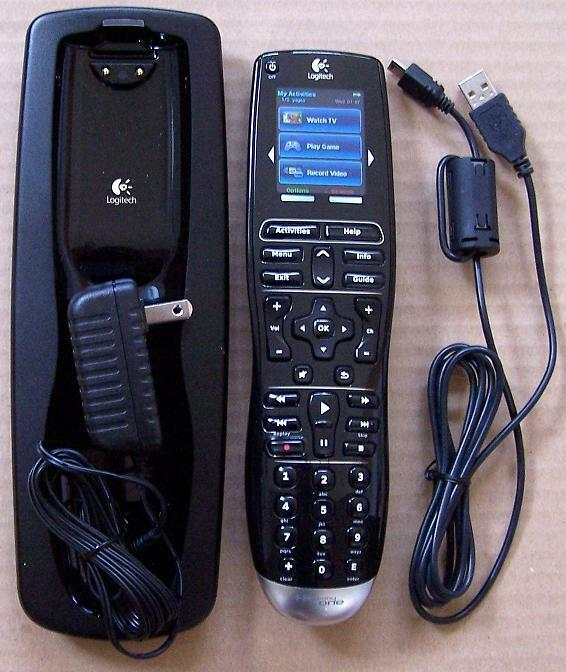 logitech harmony one touch screen lcd advanced universal remote control ebay. Black Bedroom Furniture Sets. Home Design Ideas
