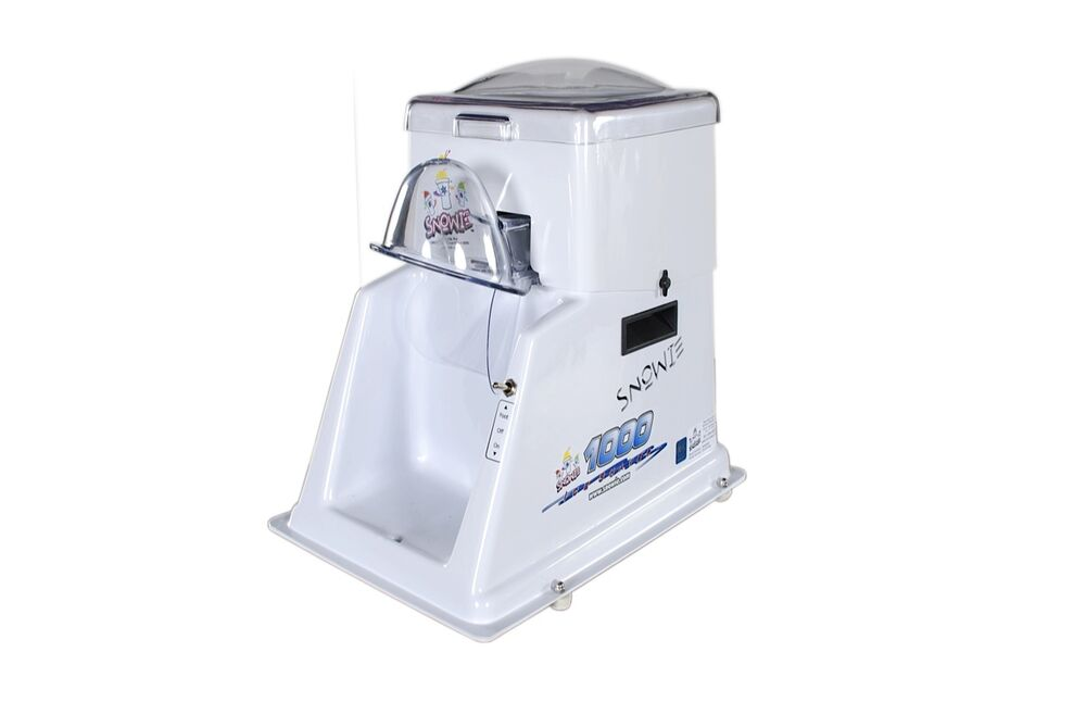 industrial shaved ice machine