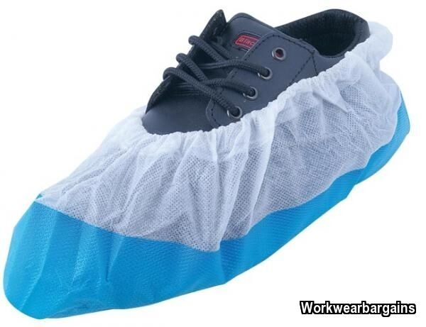 Disposable Over Shoe Overshoes Pack Of 5 Covers Floor