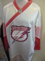 Reebok NHL Girls Youth Tampa Bay Lightning B Luv'd Hockey Jersey $55 NWT XL