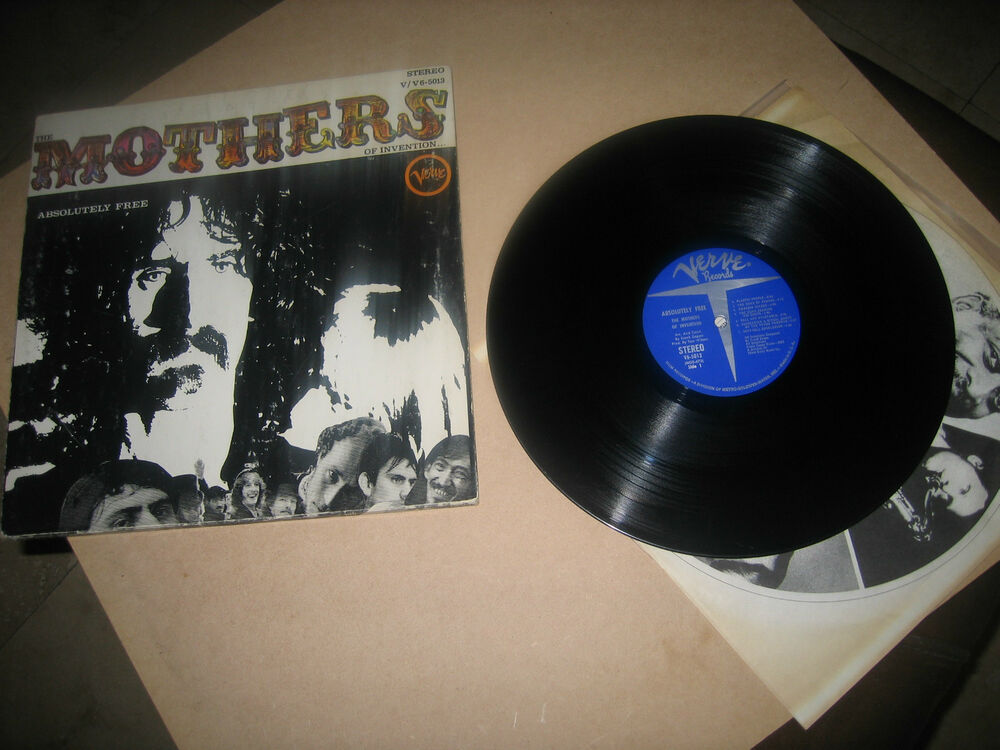 The Mothers Of Invention Absolutely Free Lp Ebay