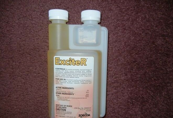 Exciter Insecticide Concentrate Fleas Ticks Cockroaches