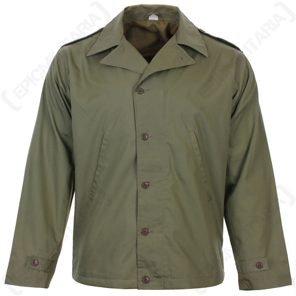 US Army Olive Drab M1941 JACKET - WW2 Repro All Sizes ...