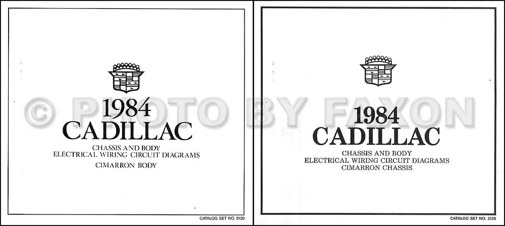 s l1000 1984 cadillac cimarron wiring diagram color foldout electrical  at webbmarketing.co