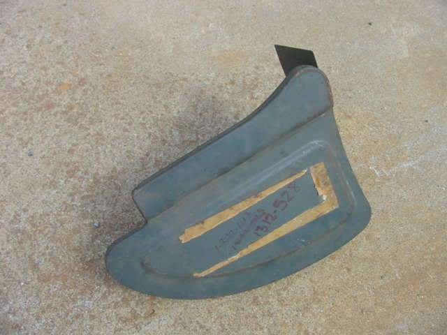1949 Plymouth Special Deluxe Woodie Lh Rear Bumper Valance