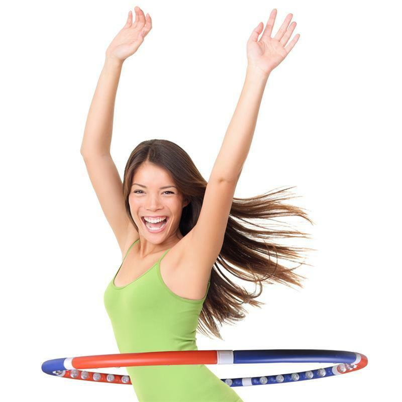 hula hoop reifen massage trainingsreifen abnehmen gymnastik fitness ebay. Black Bedroom Furniture Sets. Home Design Ideas