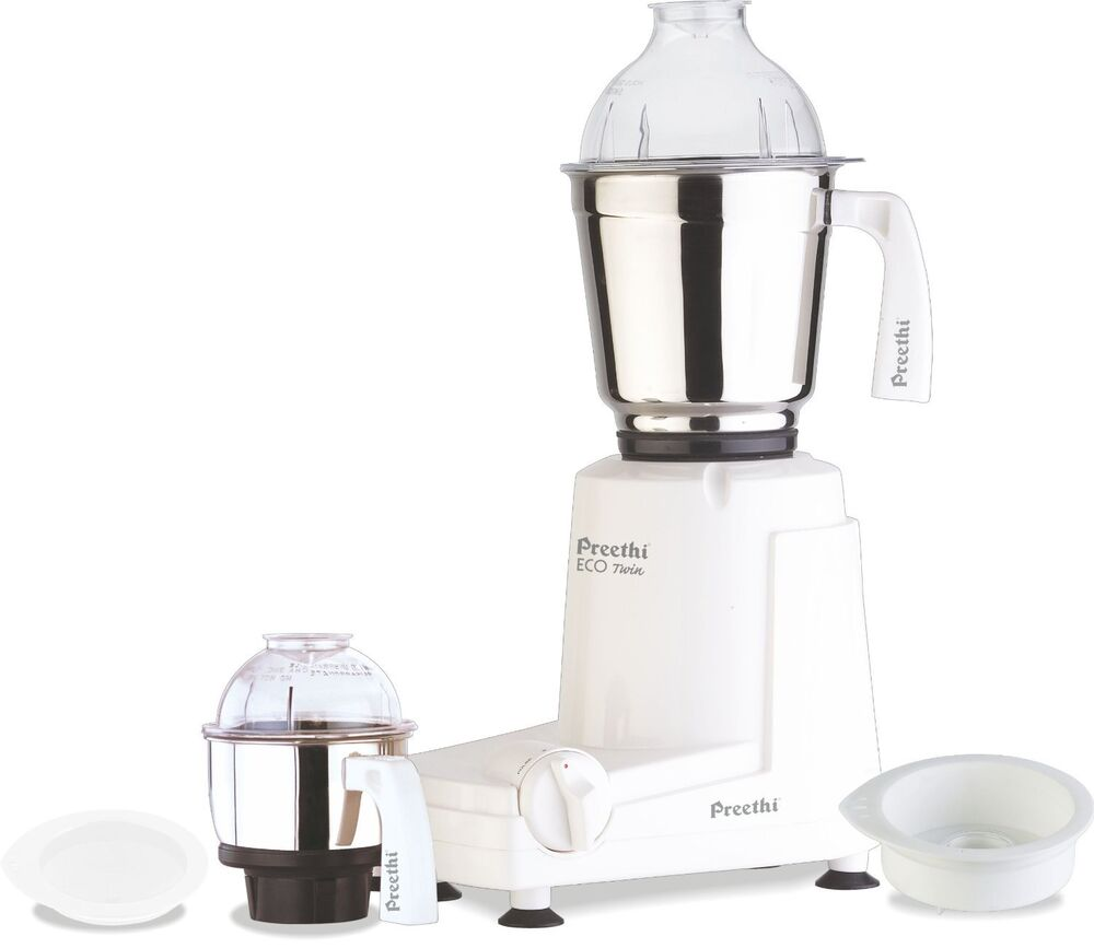 Preethi Eco Twin 2 Jar Indian Mixie Mixer Grinder For 110