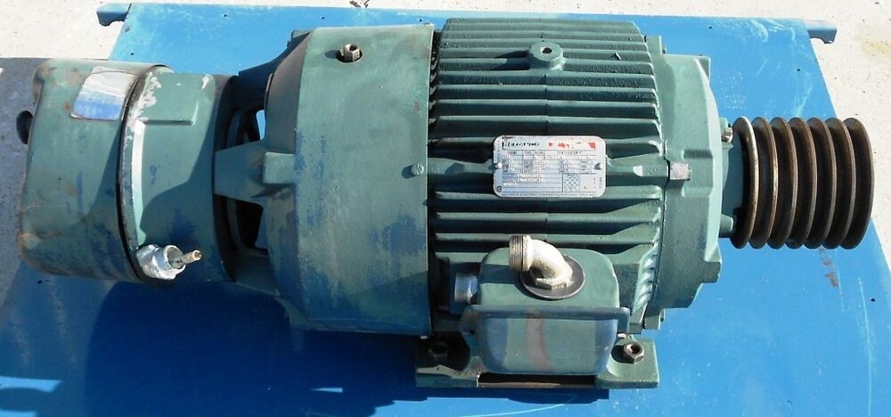 Reliance electric motor 15 hp 254t frame 1760 rpm 3 for 15 hp 3 phase baldor motor