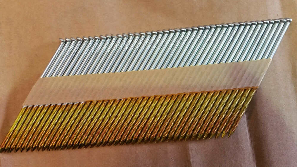 34 Degree Paper Collated Strip Nails Fit Im350 50mm