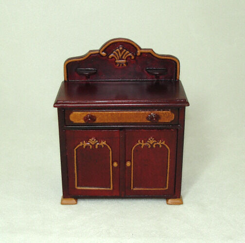 Dollhouse Miniature Bespaq Belmont Bicolor Washstand