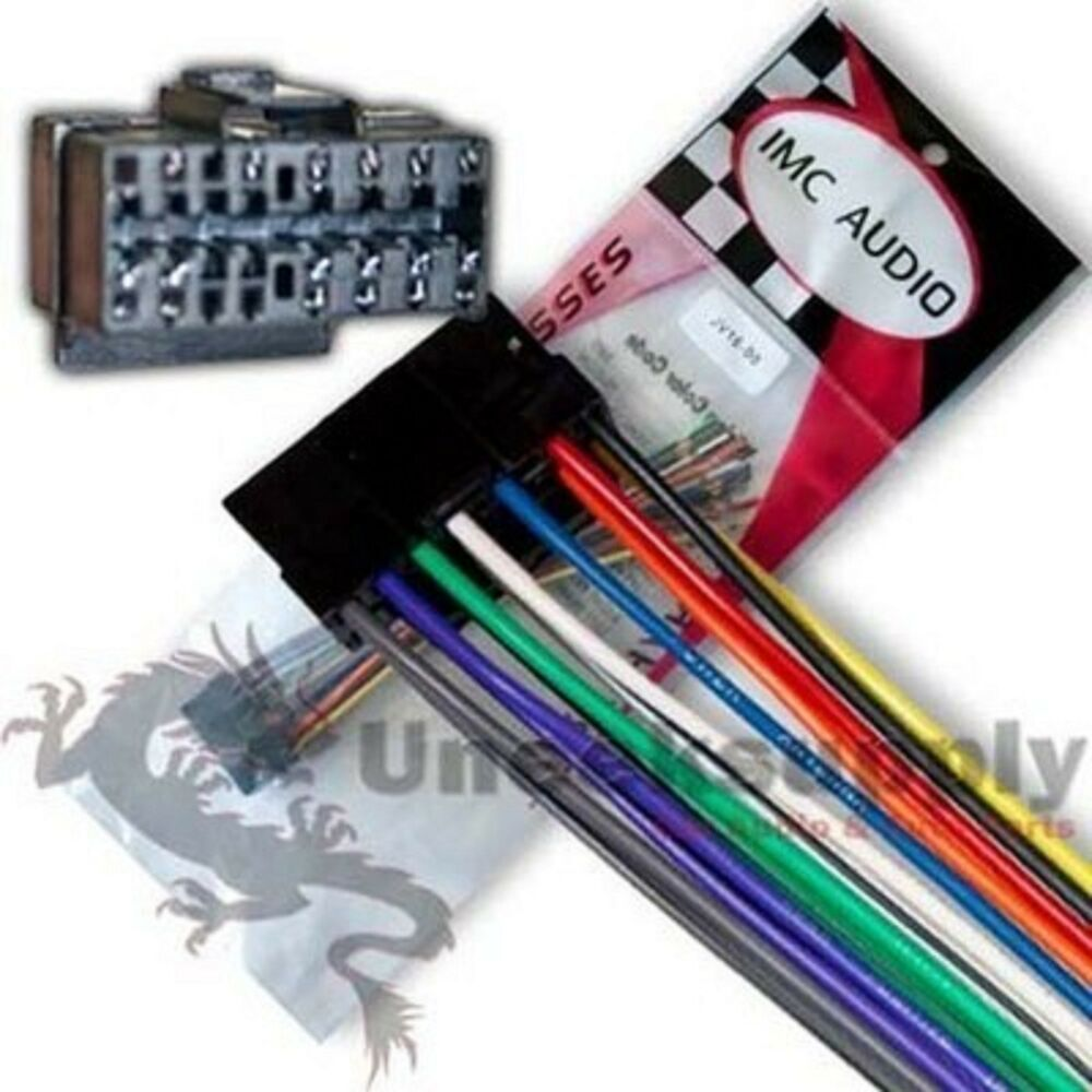 jvc car stereo 16 pin wire harness fits most jvc models ... kds29 jvc car stereo wiring diagram jvc car stereo wiring harness size #15