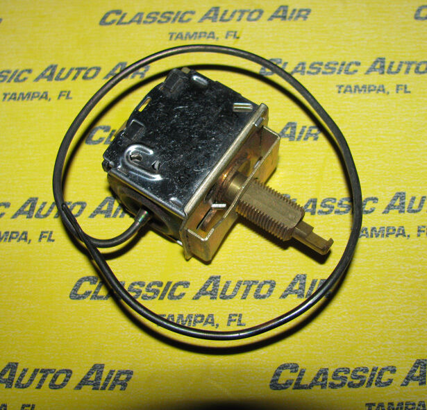 nos 66 mustang a c thermostat switch ac air conditioning. Black Bedroom Furniture Sets. Home Design Ideas