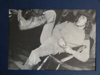 """3.5 x 5"""" clipframe with vintage photo cutting of ROGER DALTREY [ THE WHO ]"""