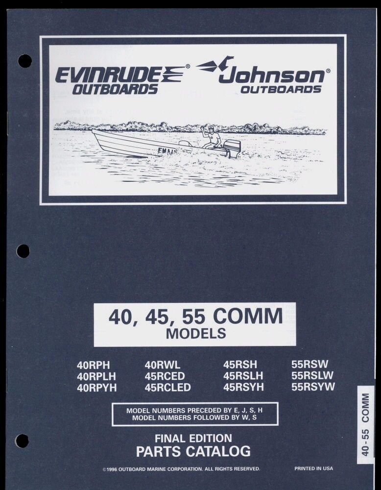 johnson 9.5 hp outboard motor manual