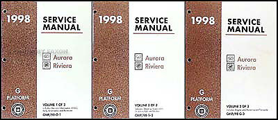 1995 buick riviera owners manual
