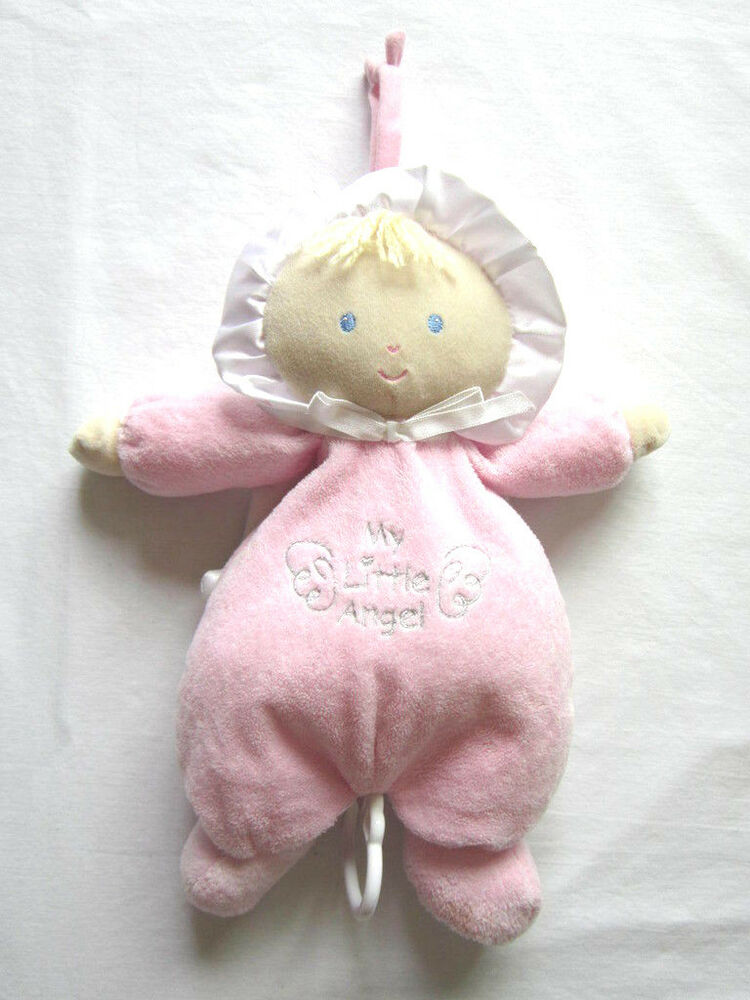 Little Angel Toys : Carters my little angel musical doll pink satin wings rock