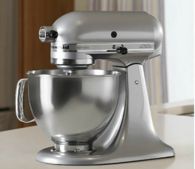 Kitchenaid Stand Mixer Tilt 5 Quart Rrk150mc Metallic