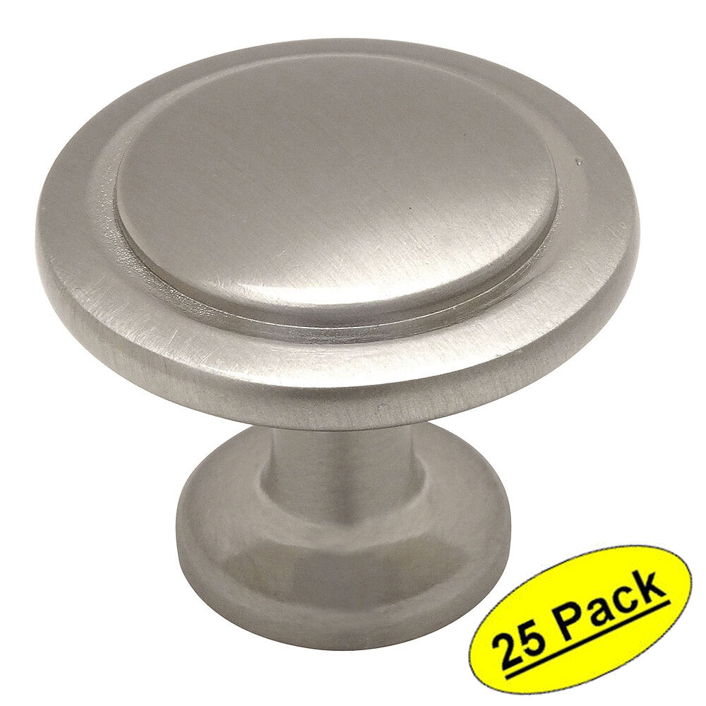 kitchen cabinets handles or knobs 25 pack cosmas cabinet hardware satin nickel 20475