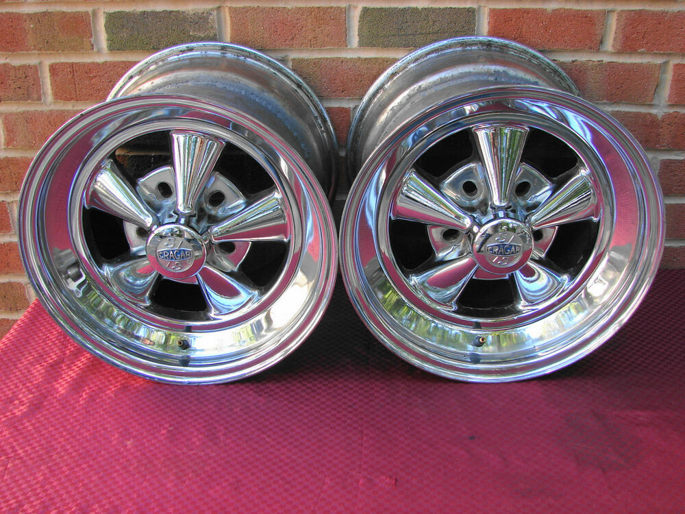 15x12 Cragar Ss Wheels Custom Built Gasser Street Rod Mini