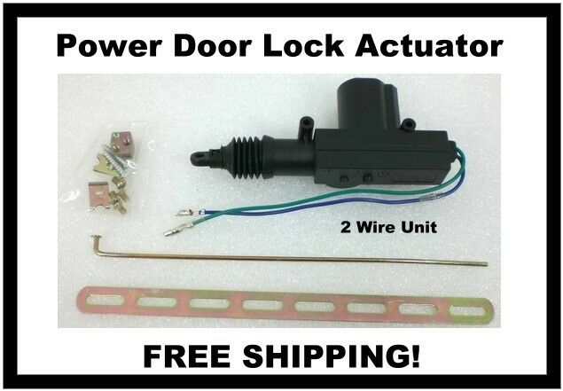 Black Widow Automotive Door Lock Actuator 12 Volt Dc