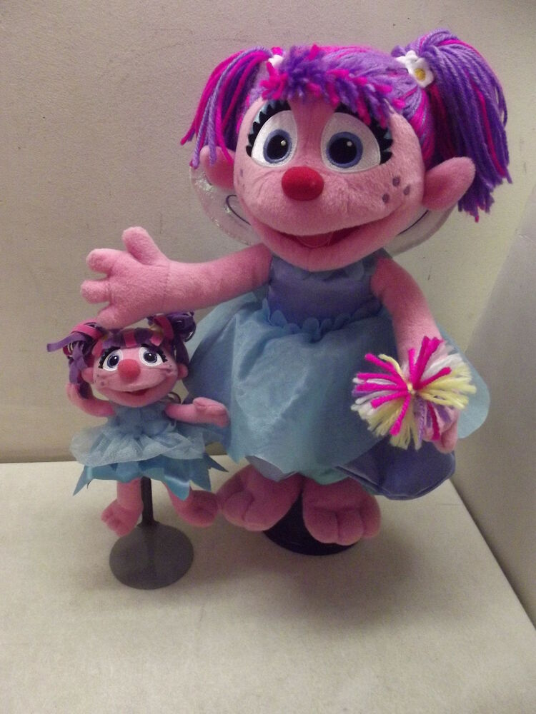 "SESAME STREET ABBY CADABBY FAIRY 14"" PLUSH STUFFED TOY ..."