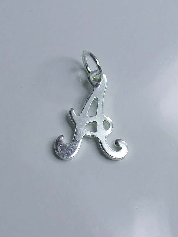 Silver Letter Charms Uk