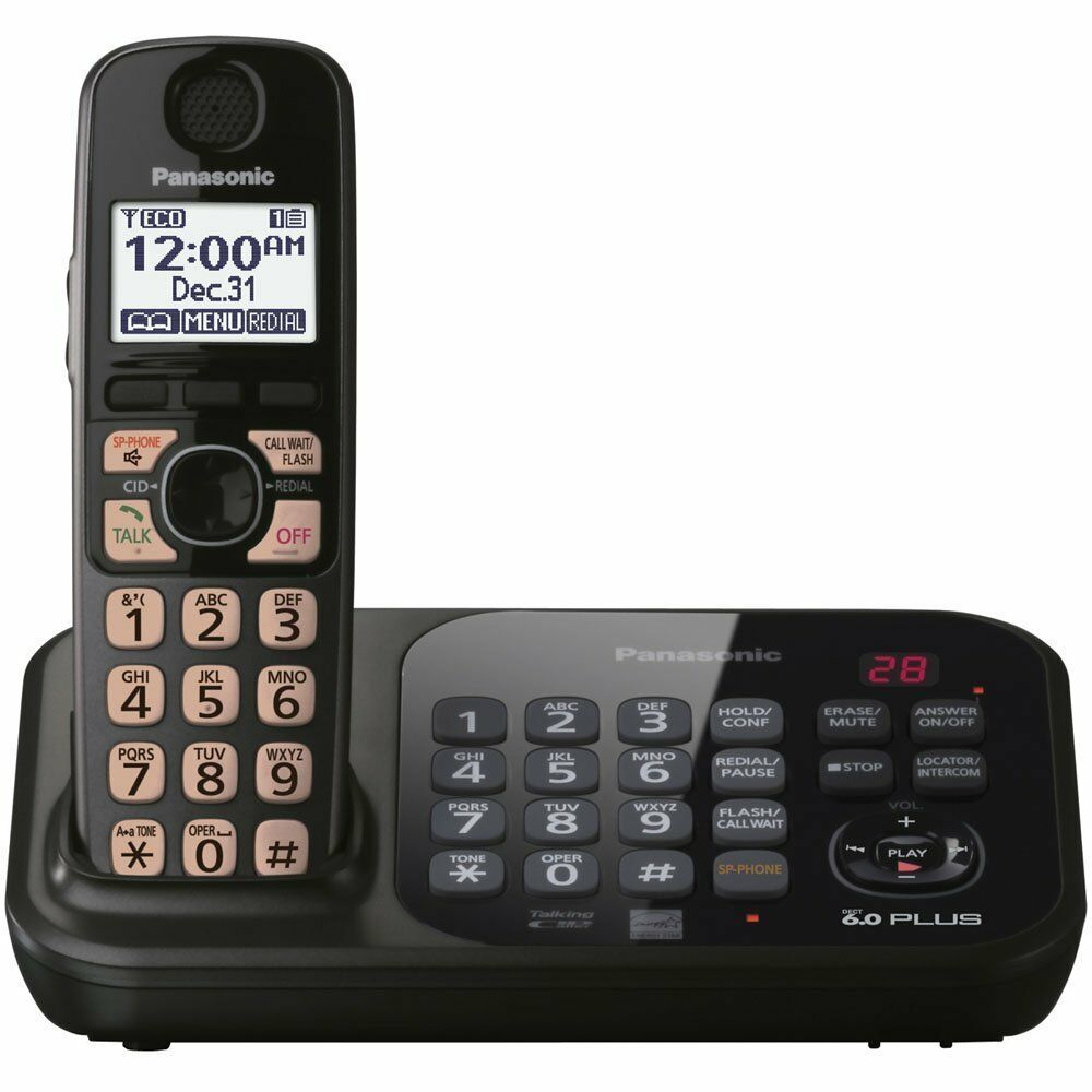 panasonic telephones with answering machine manual