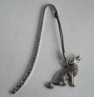 Wolf Lovers Bookmark in Fine English Pewter, Gift Boxed (ts)