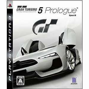 gran turismo 5 prologue spec iii ps3 import japan ebay. Black Bedroom Furniture Sets. Home Design Ideas