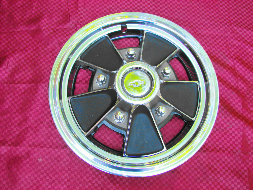 69-72 CHEVROLET IMPALA CAPRICE NOS MAG STYLE HUBCAP 15"