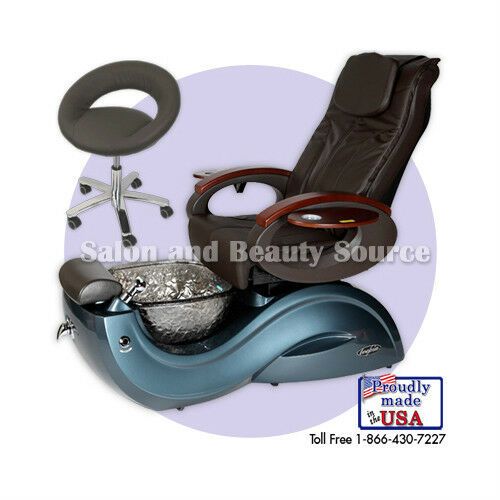 T Spa And Nail Supply: Pipeless Pedicure Pedi Spa Chair Toepia GX Glass Bowl