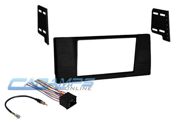 E39 New Double Din Car Stereo Radio Mounting Dash Install