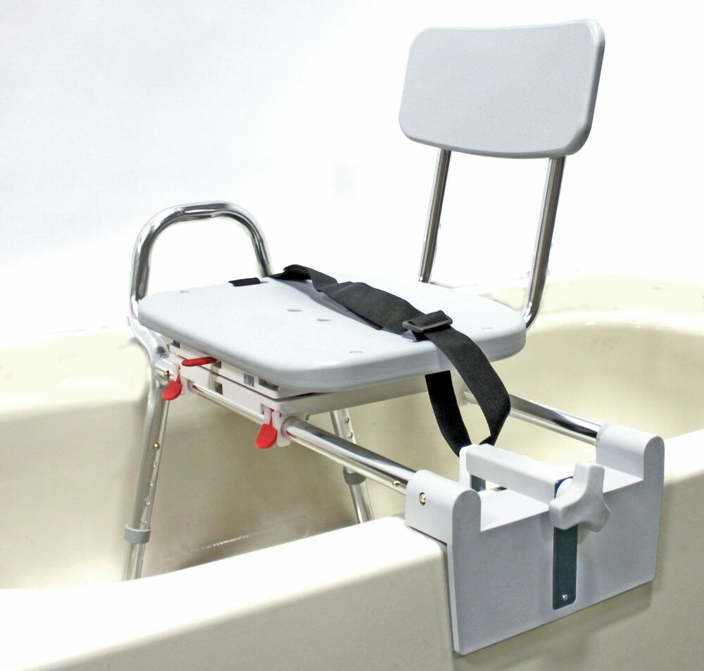 Eagle health tub mount padded swivel sliding seat transfer bench 77762 ebay Transfer bath bench