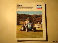 FORD NEW HOLLAND DIESEL TRACTOR SALES BROCHURE MANUAL TL287